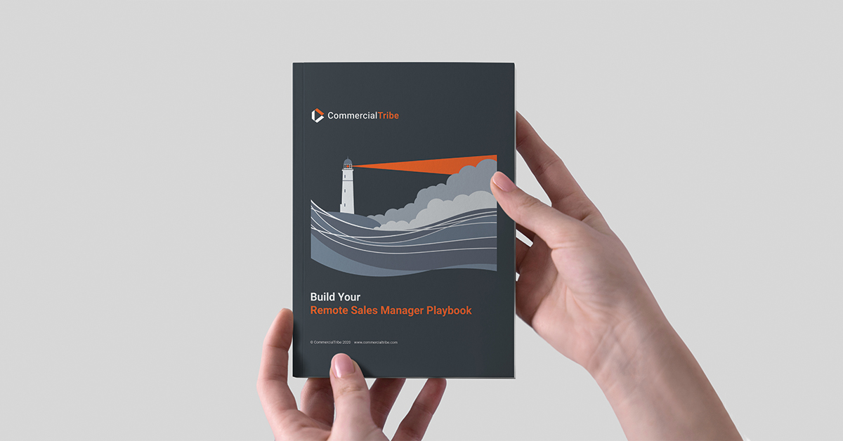 remote sales manager playbook book